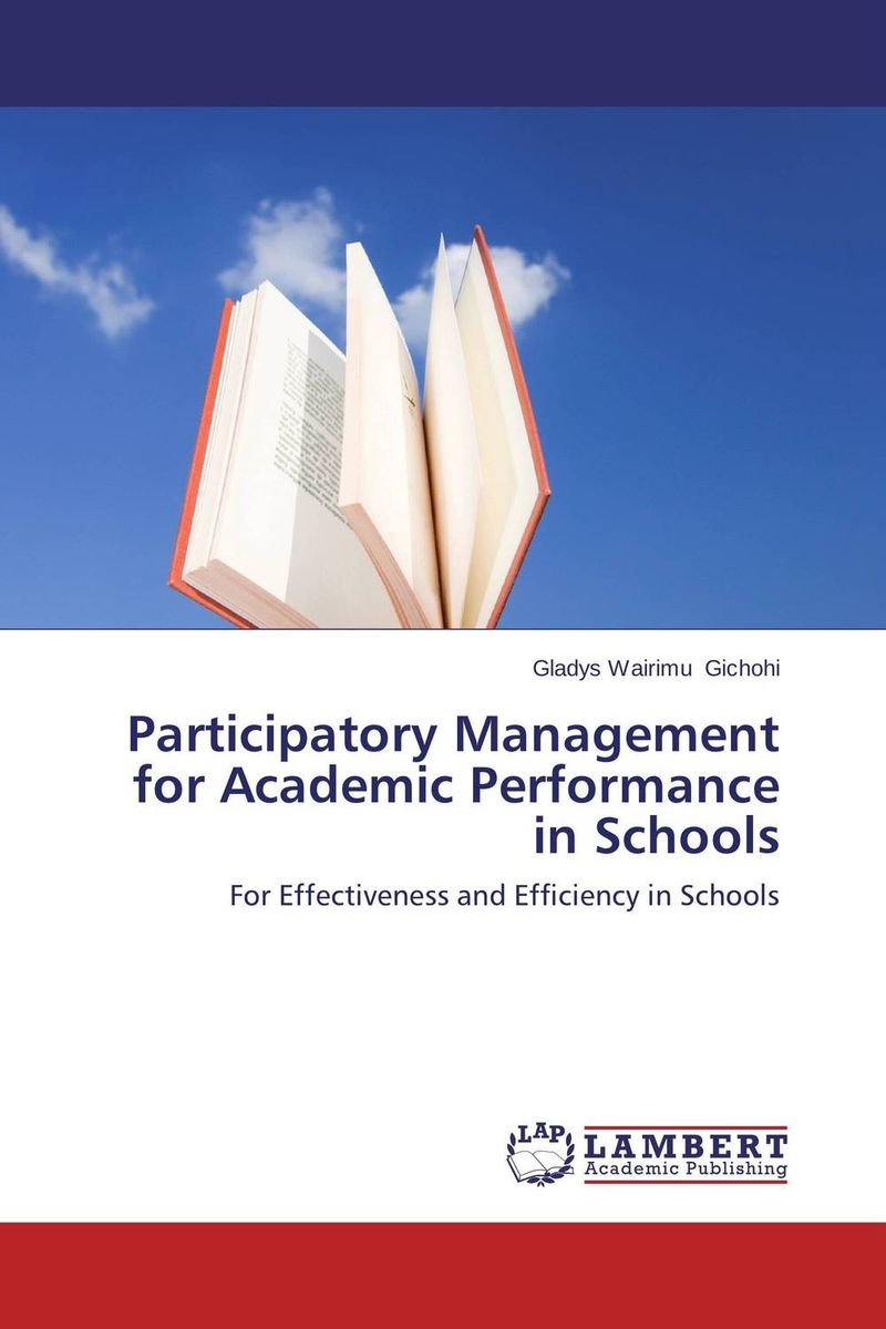 Participatory Management for Academic Performance in Schools surendra kumar rai rajesh d pandya and sumit r salunkhe participatory irrigation management