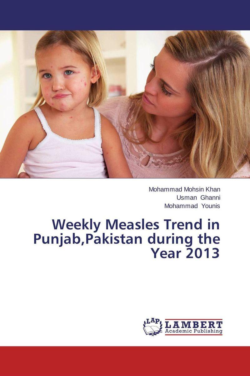 Weekly Measles Trend in Punjab,Pakistan during the Year 2013 measles immunity status of children in kano nigeria