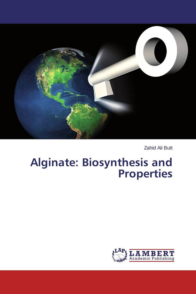 Alginate: Biosynthesis and Properties cofactor biosynthesis a mechanistic perspective 61