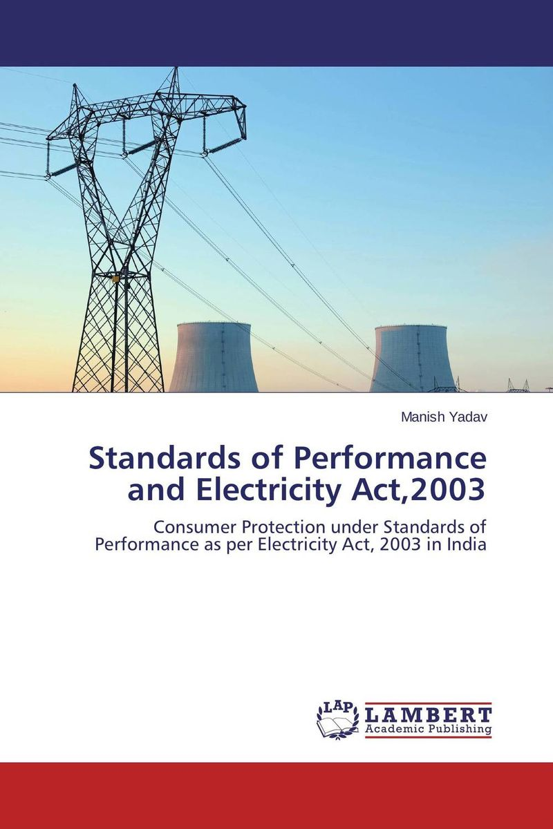 Standards of Performance and Electricity Act,2003 bruce feibel j complying with the global investment performance standards gips