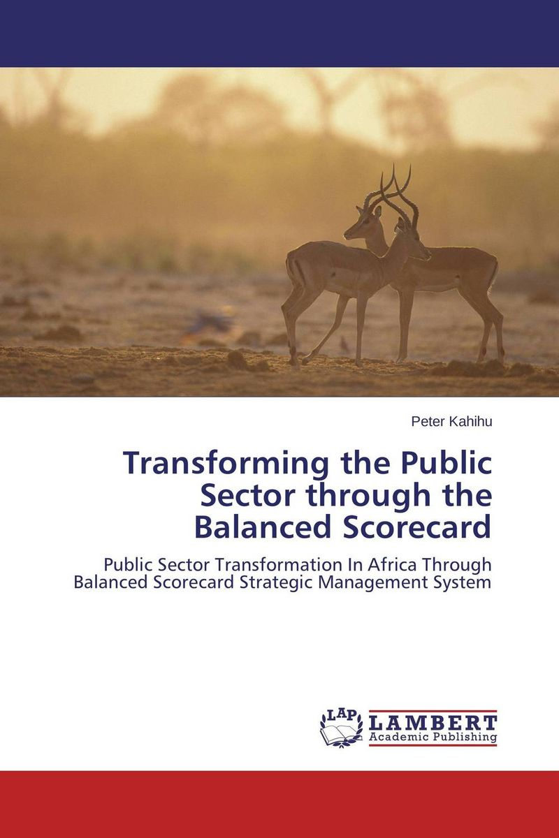 Transforming the Public Sector through the Balanced Scorecard public sector management techniques