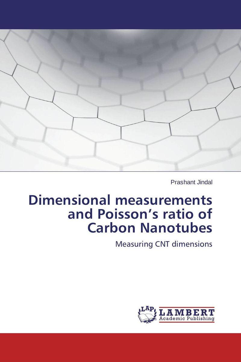Dimensional measurements and Poisson's ratio of Carbon Nanotubes quantum optics with single wall carbon nanotubes