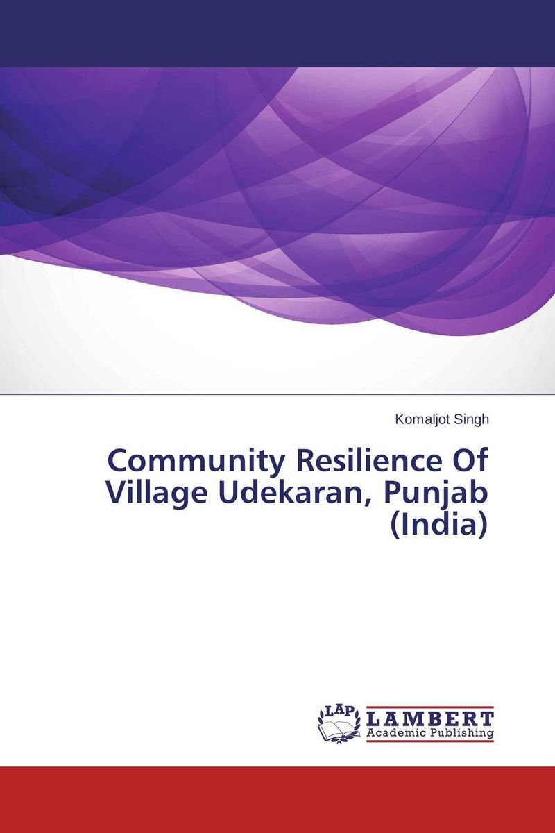 Community Resilience Of Village Udekaran, Punjab (India)