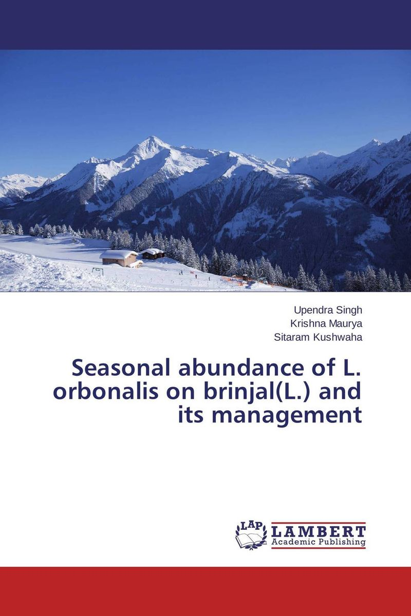 Seasonal abundance of L. orbonalis on brinjal(L.) and its management effects of grazing on insect pollinator diversity and abundance