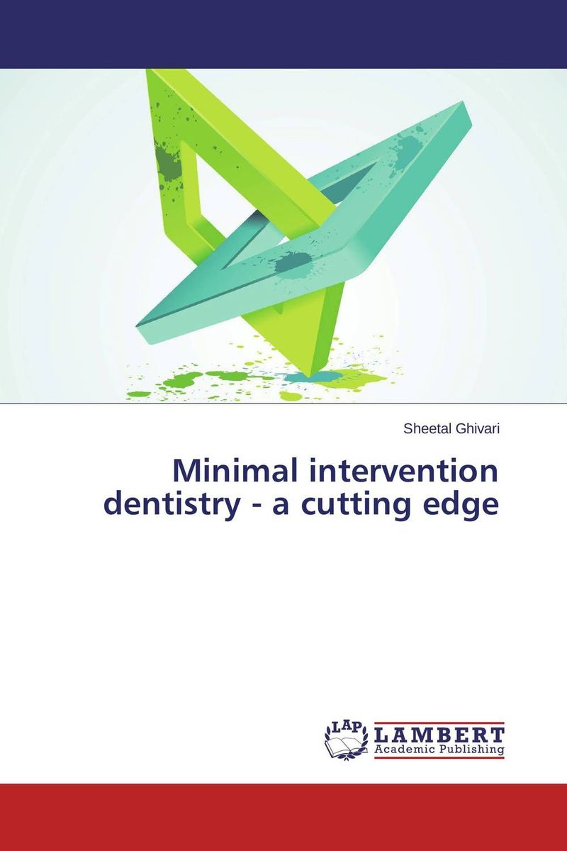Minimal intervention dentistry - a cutting edge risk regulation and administrative constitutionalism