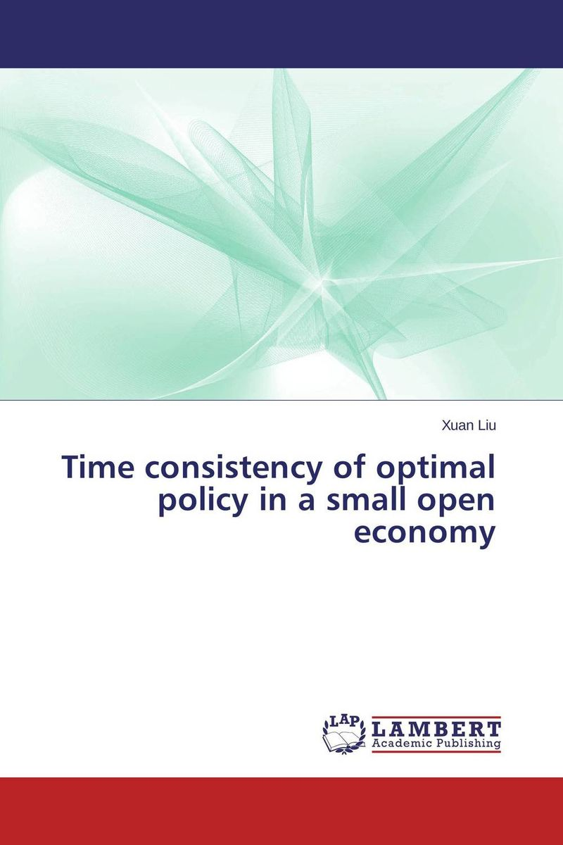 Time consistency of optimal policy in a small open economy optimal and efficient motion planning of redundant robot manipulators