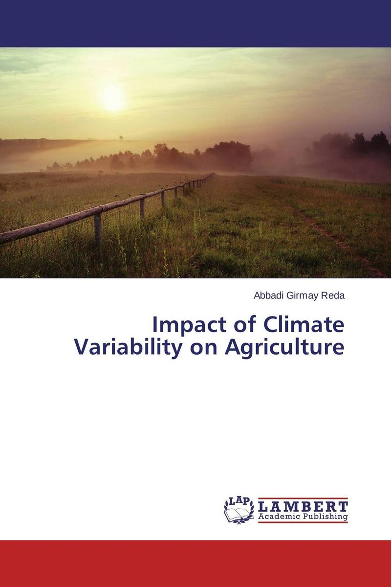 Impact of Climate Variability on Agriculture suh jude abenwi the economic impact of climate variability