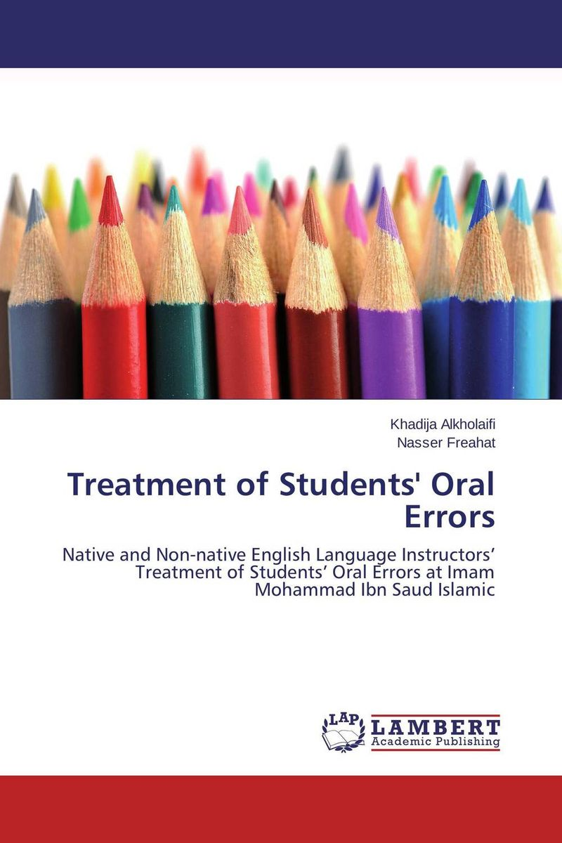 Treatment of Students' Oral Errors the comedy of errors