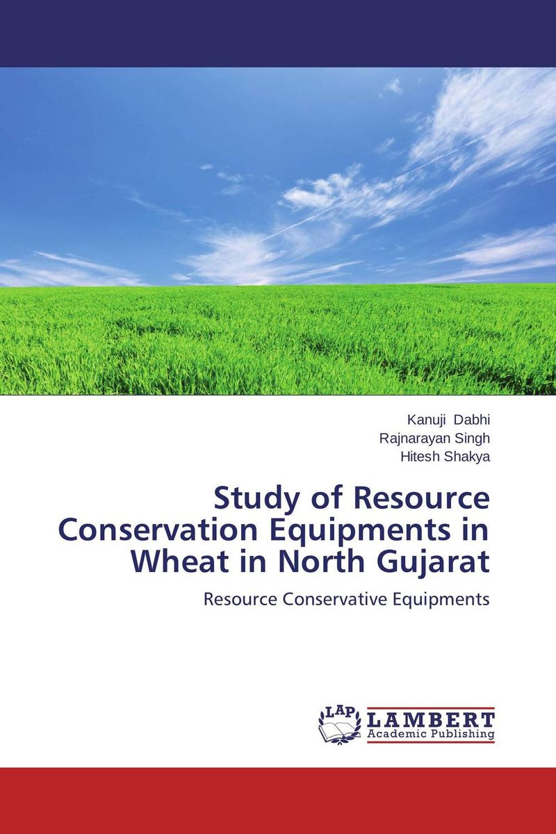 Study of Resource Conservation Equipments in Wheat in North Gujarat zero tillage technology in rice wheat cropping system of pakistan