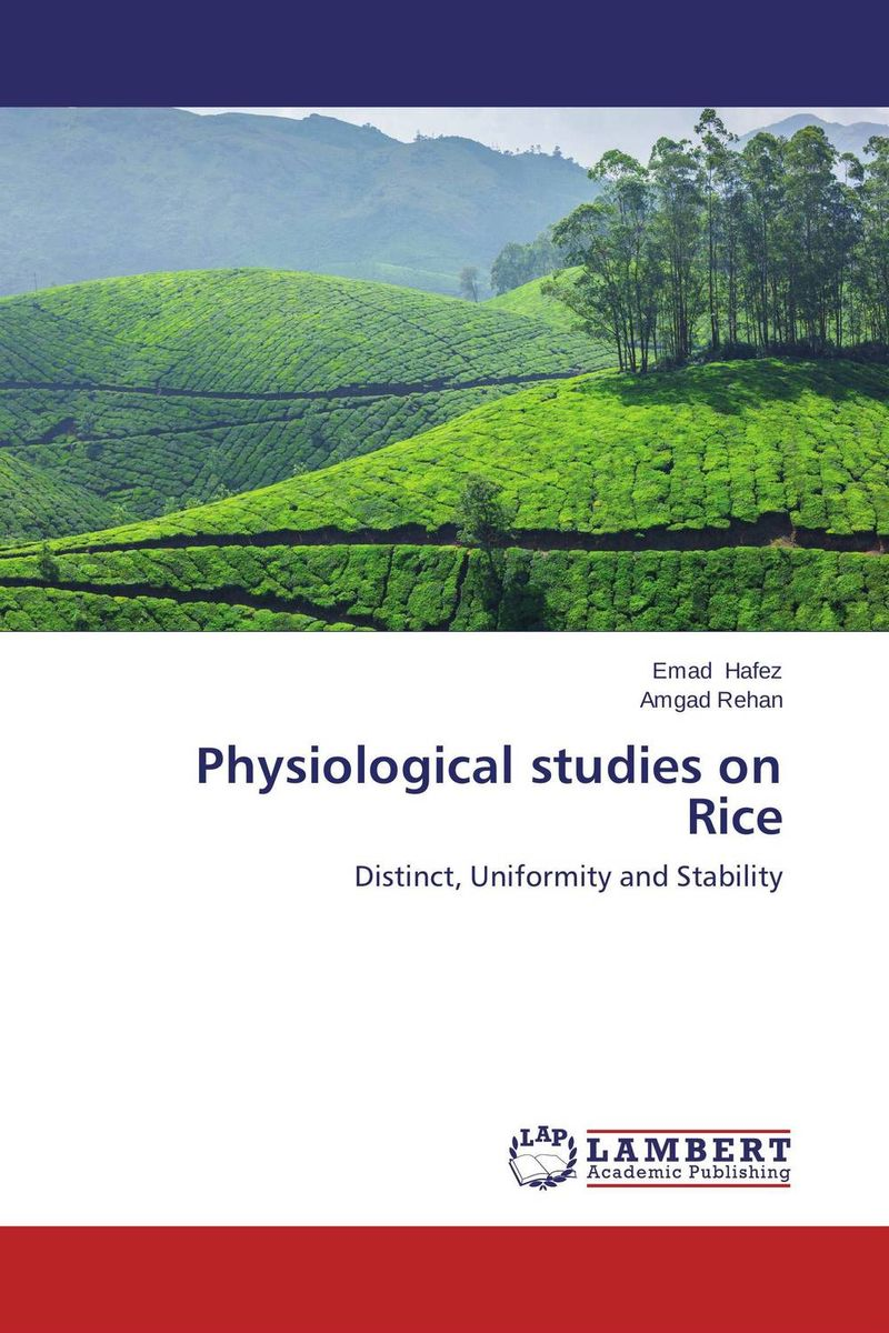 Physiological studies on Rice