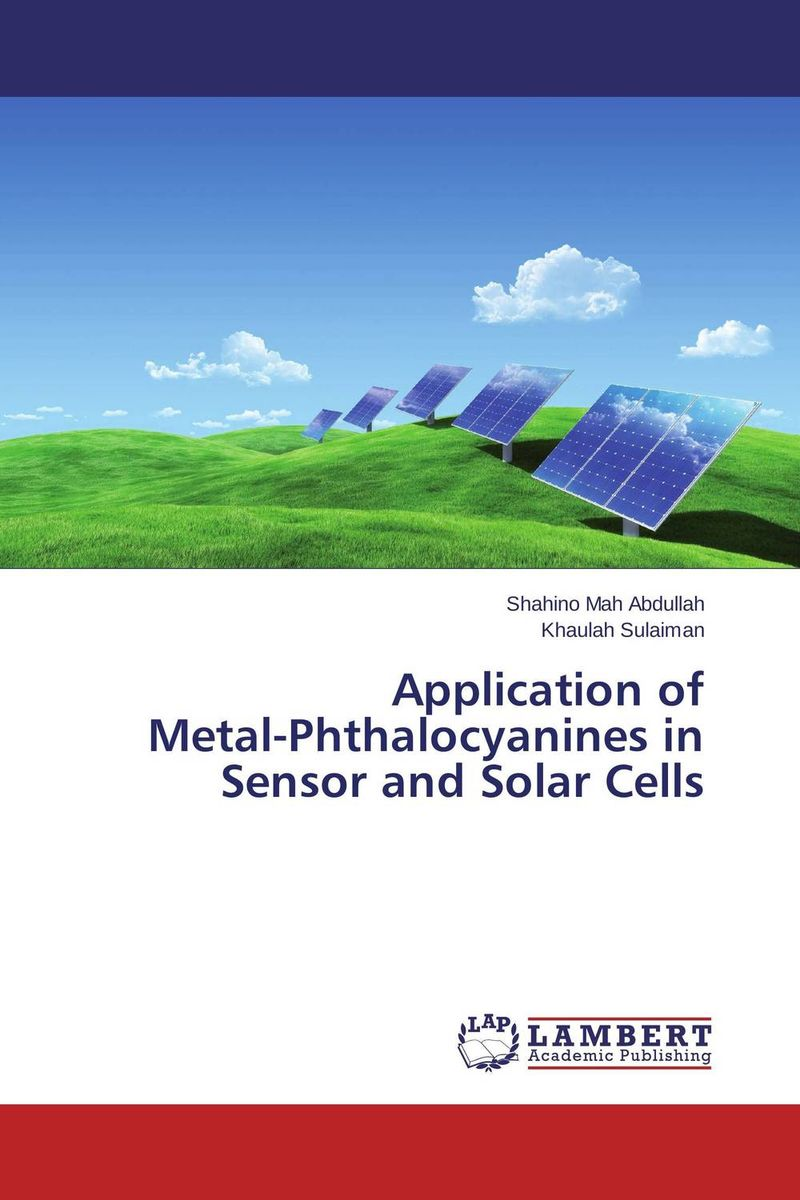 Application of Metal-Phthalocyanines in Sensor and Solar Cells solution processed organic solar cells