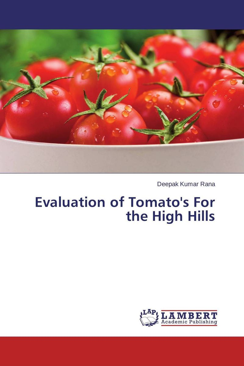 Evaluation of Tomato's For the High Hills evaluation of lucern as a predator source for wheat aphids