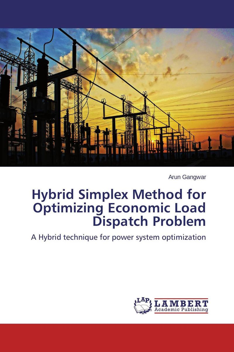 Hybrid Simplex Method for Optimizing Economic Load Dispatch Problem group search optimizer for economic load dispatch