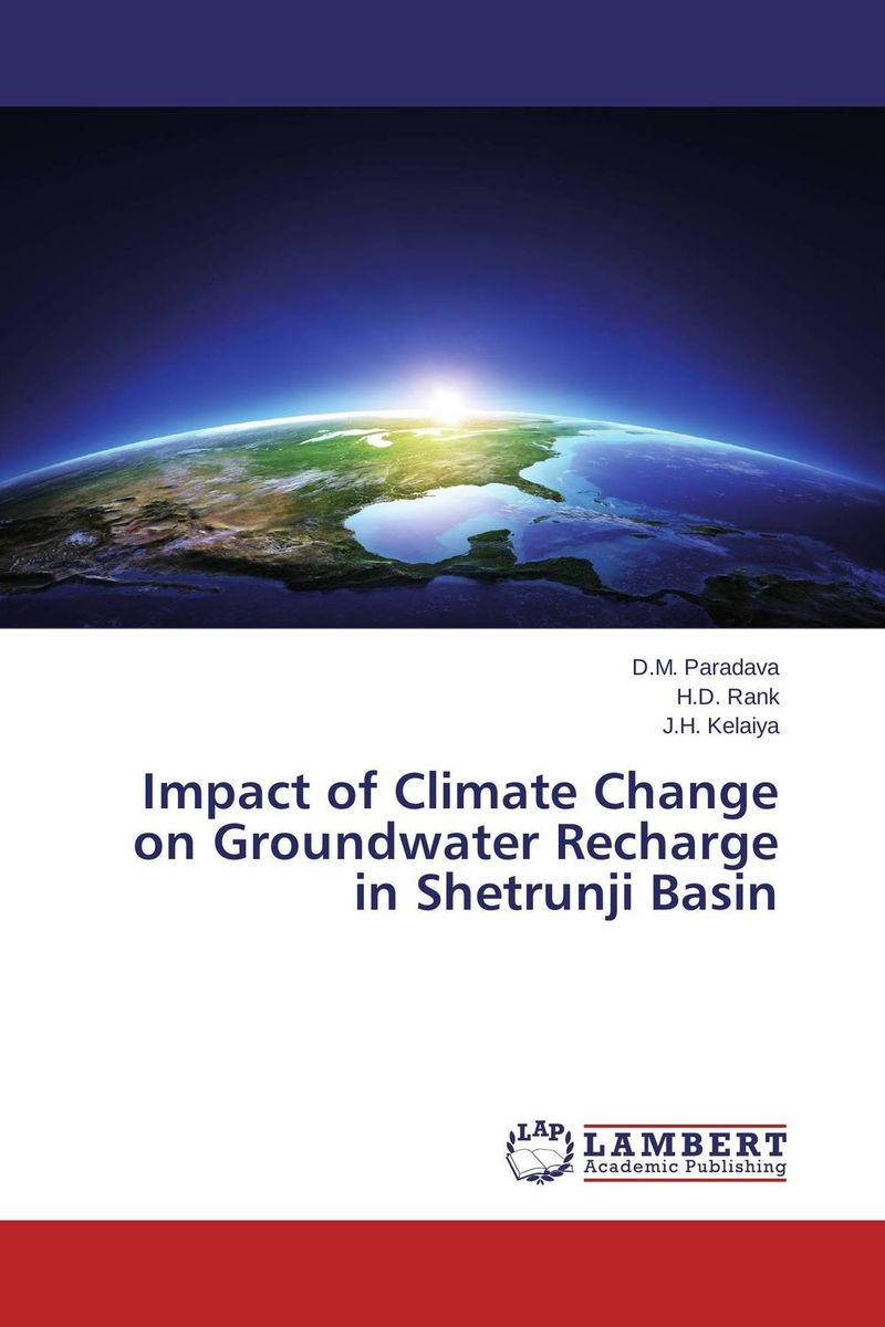 Impact of Climate Change on Groundwater Recharge in Shetrunji Basin suh jude abenwi the economic impact of climate variability