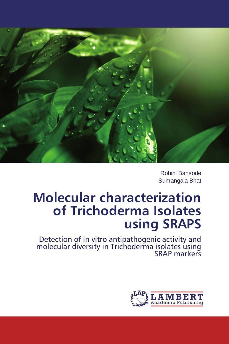 Molecular characterization of Trichoderma Isolates using SRAPS augmented cellulase production by mutagenesis of trichoderma viride