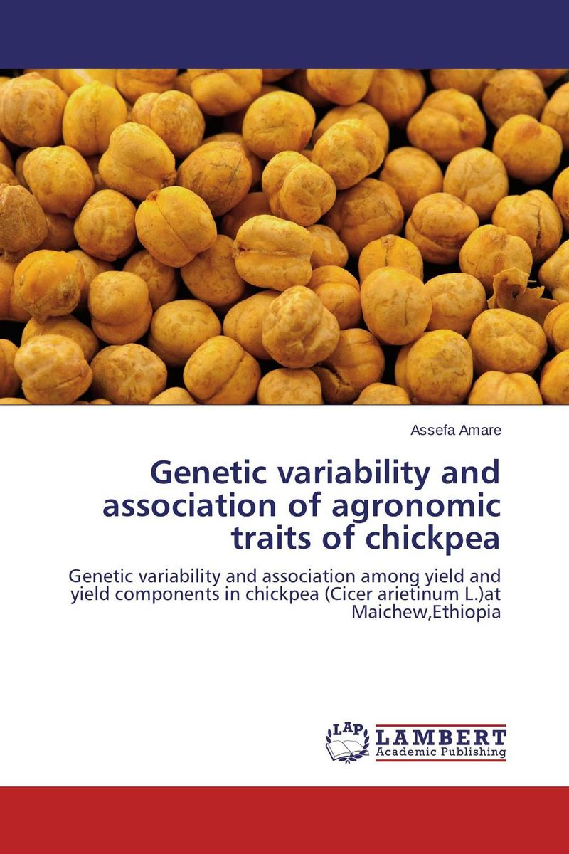 Genetic variability and association of agronomic traits of chickpea купить