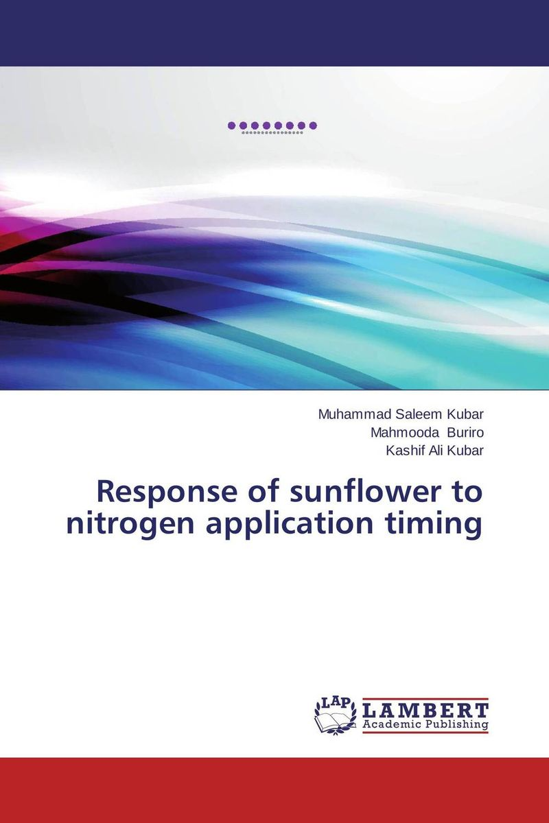 Response of sunflower to nitrogen application timing risk factors associated with tb co infection in hiv aids patients