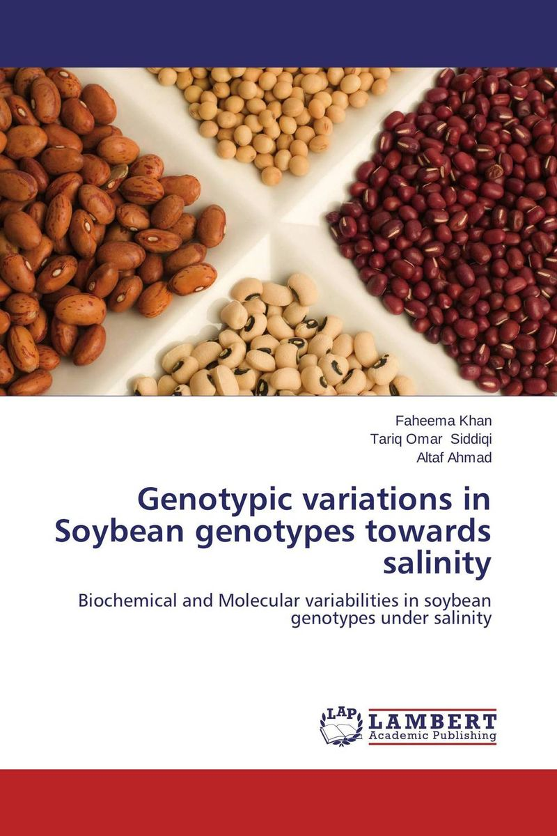 Genotypic variations in Soybean genotypes towards salinity amber sattar and muhammad asif genetics of salinity tolerance in okra