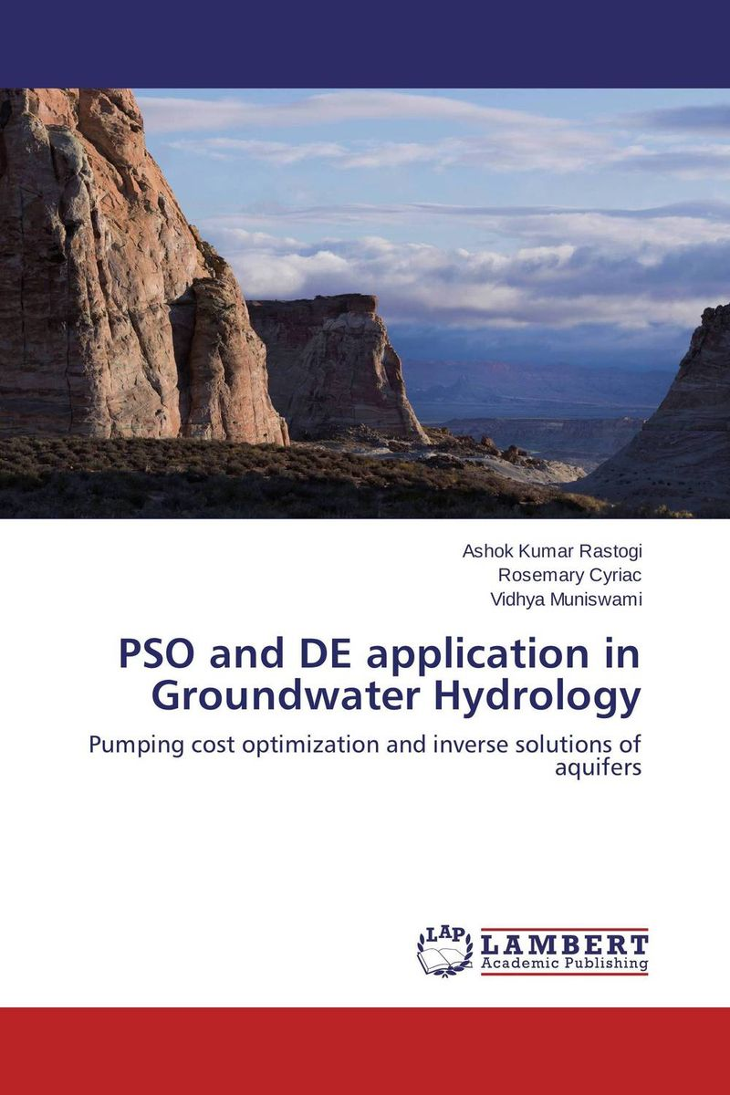 PSO and DE application in Groundwater Hydrology pso based evolutionary learning