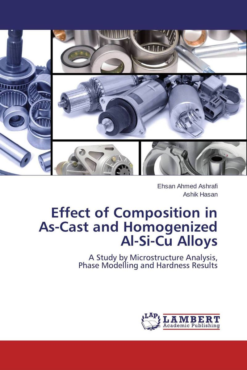 Effect of Composition in As-Cast and Homogenized Al-Si-Cu Alloys