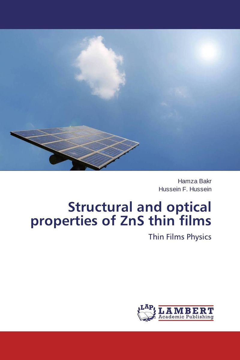 Structural and optical properties of ZnS thin films parnas bibliotheca microbiologica brucella phages properties and application