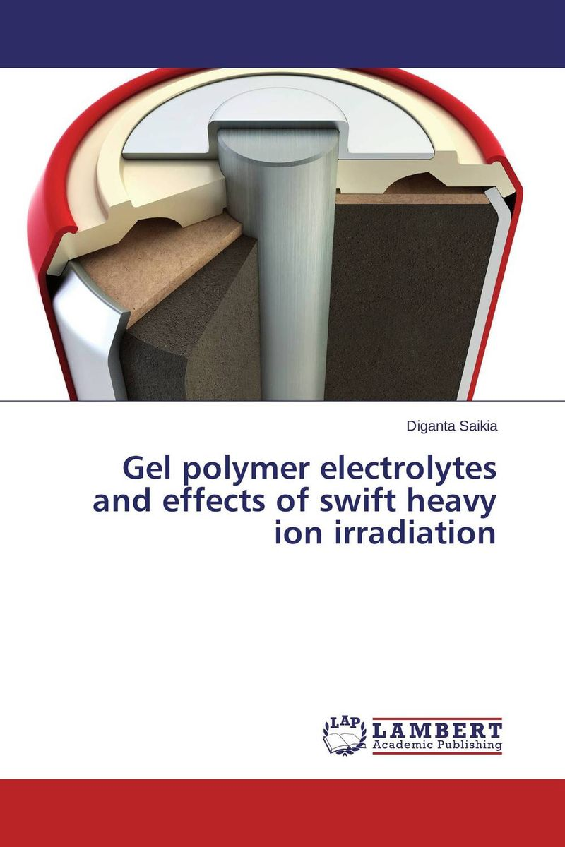 Gel polymer electrolytes and effects of swift heavy ion irradiation ion acoustic solitary wave in an ion