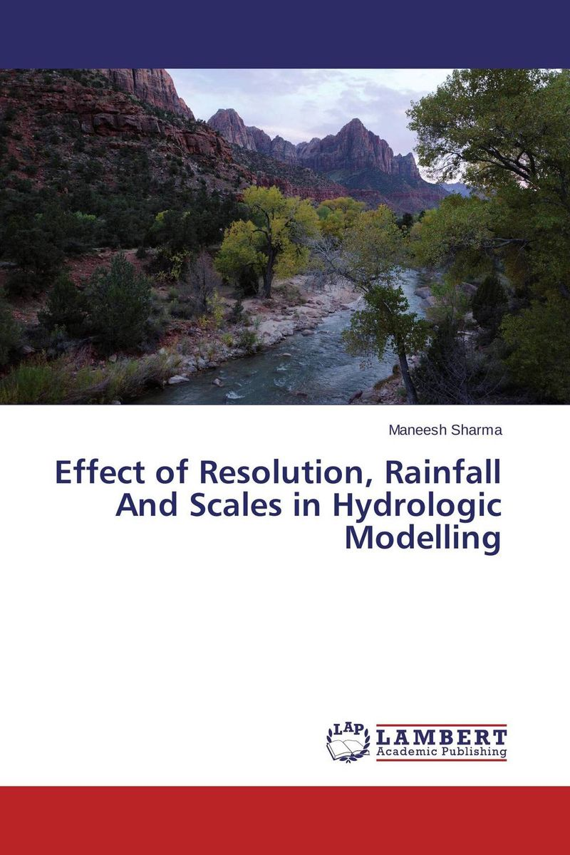 Effect of Resolution, Rainfall And Scales in Hydrologic Modelling the plot