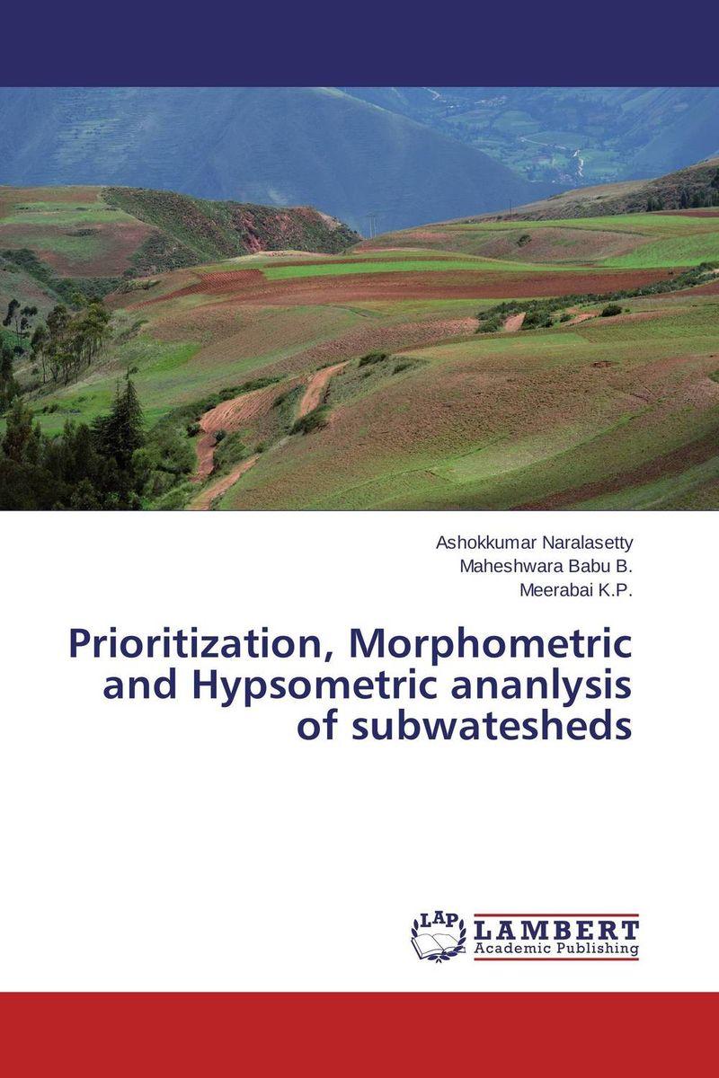 Prioritization, Morphometric and Hypsometric ananlysis of subwatesheds
