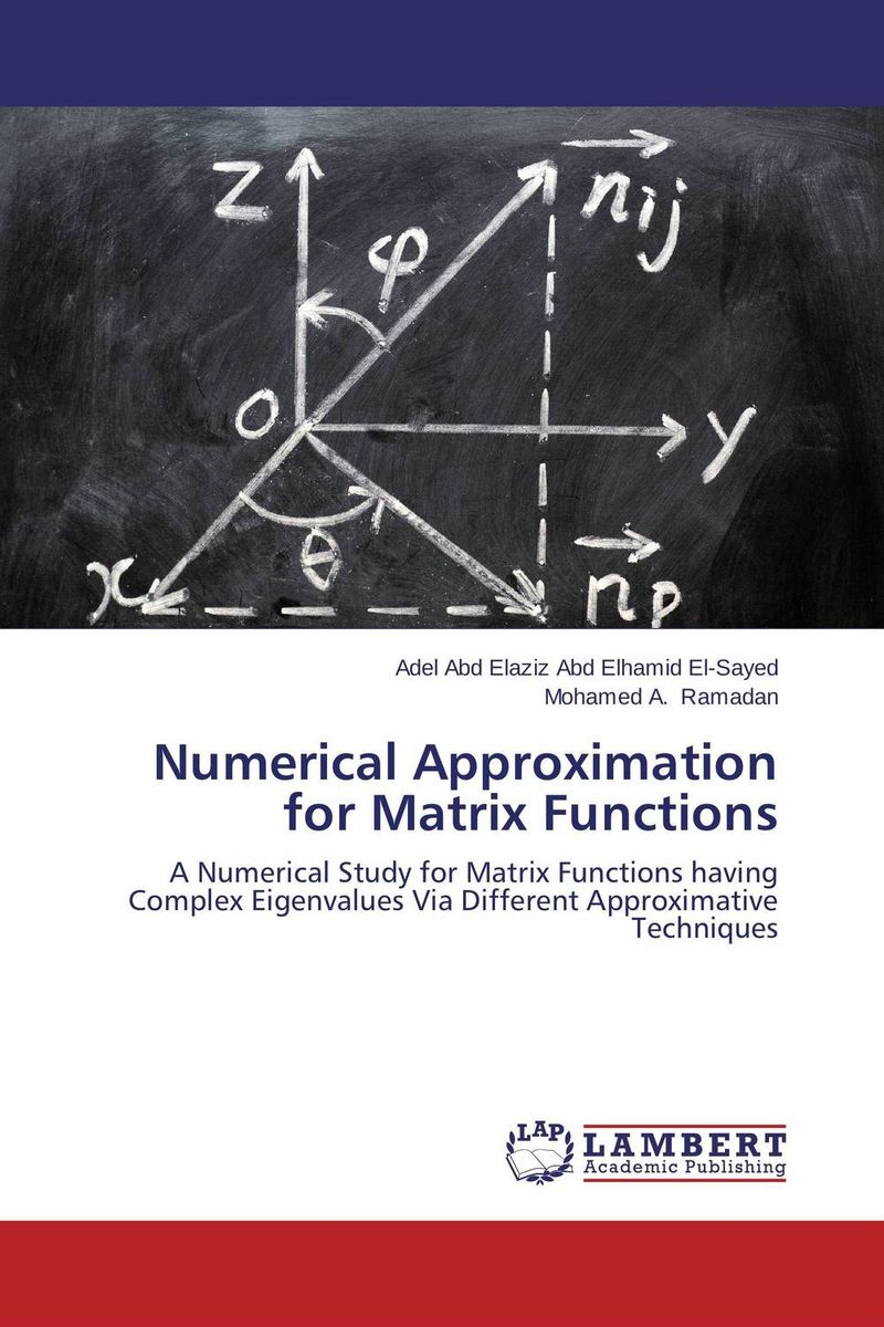 Numerical Approximation for Matrix Functions numerical study of dynamic relaxation methods