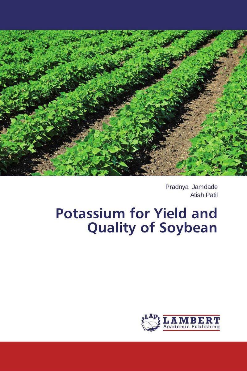 Potassium for Yield and Quality of Soybean стоимость