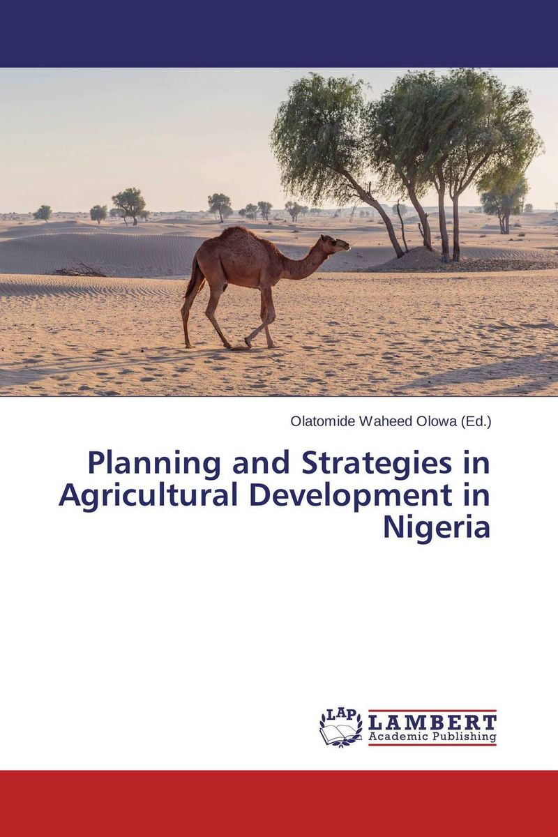 Planning and Strategies in Agricultural Development in Nigeria genetic study of muscovy duck from two ecological zones of nigeria
