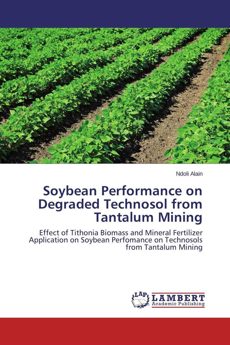 Soybean Performance on Degraded Technosol from Tantalum Mining land capability classification of degraded jharia coalfield india