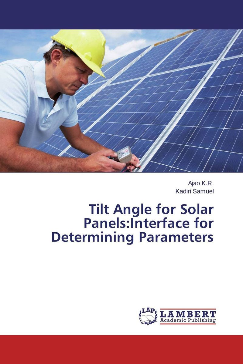 Tilt Angle for Solar Panels:Interface for Determining Parameters fighting corruption in nigeria