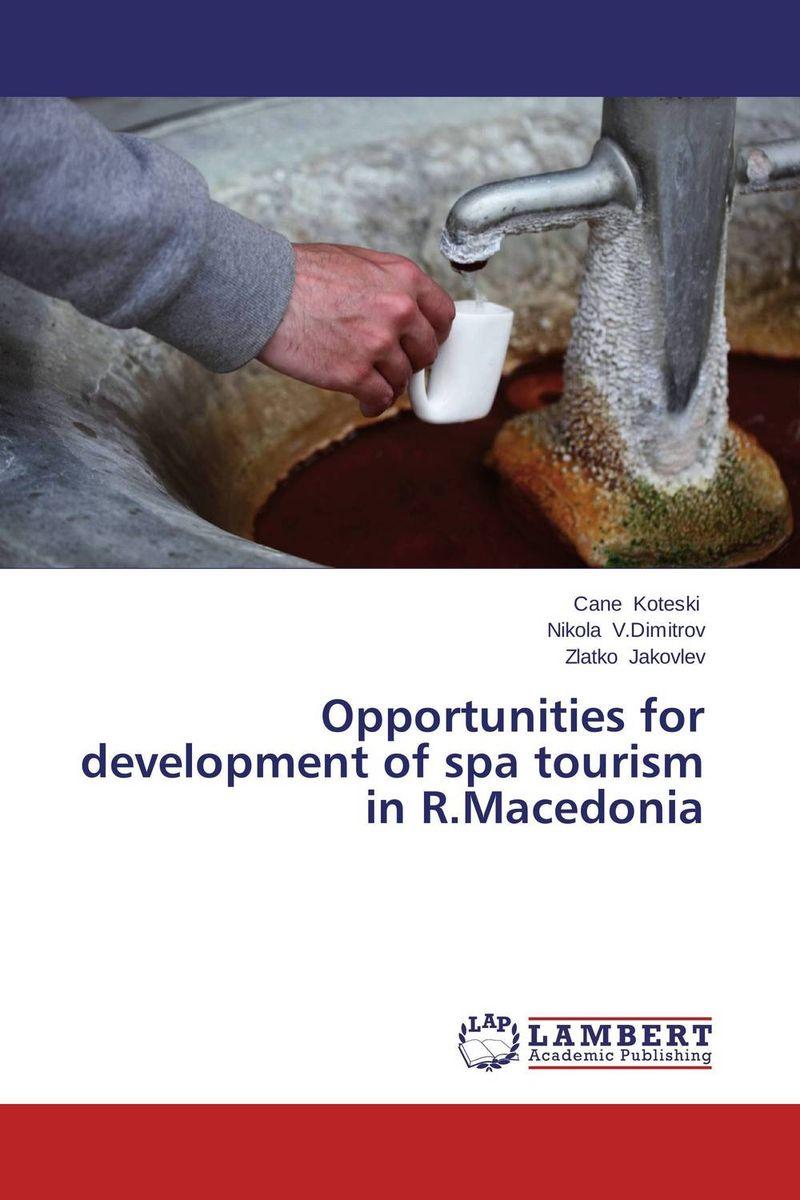 Opportunities for development of spa tourism in R.Macedonia sea of spa крем морковный универсальный 500 мл