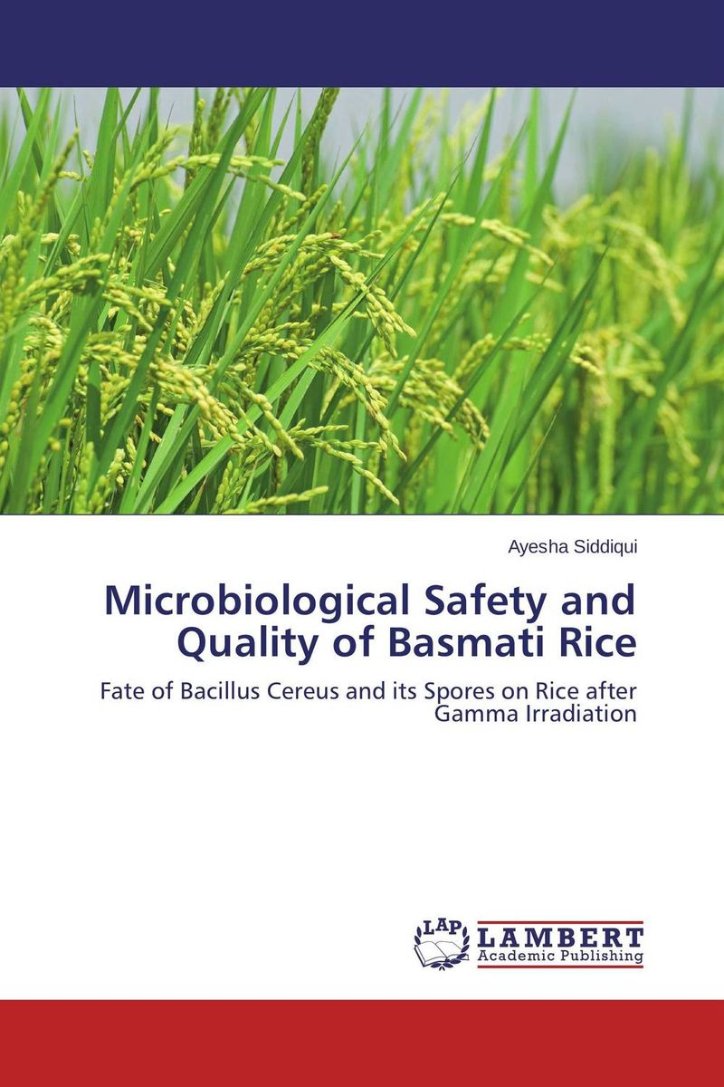 Microbiological Safety and Quality of Basmati Rice microbial production of amylase in bacillus cereus sp