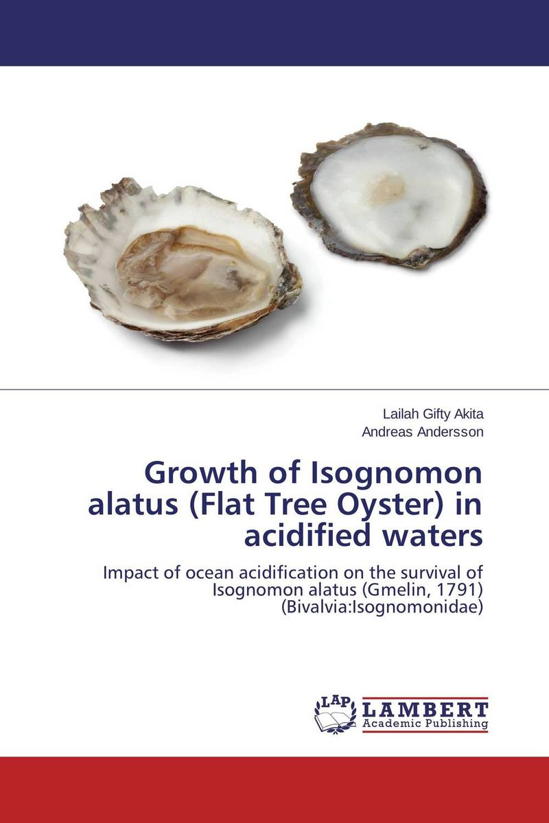 Growth of Isognomon alatus (Flat Tree Oyster) in acidified waters oysters novgorod black отзывы