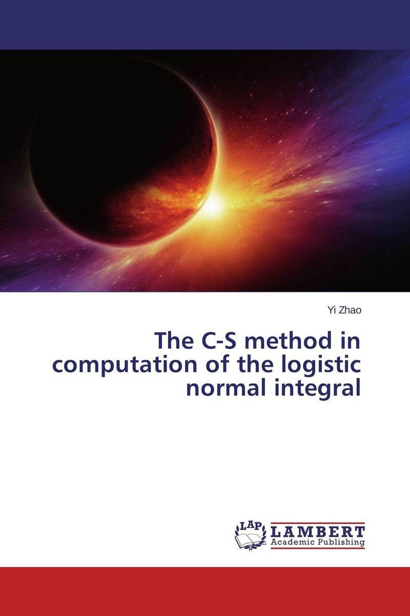 The C-S method in computation of the logistic normal integral программа gaussian купить