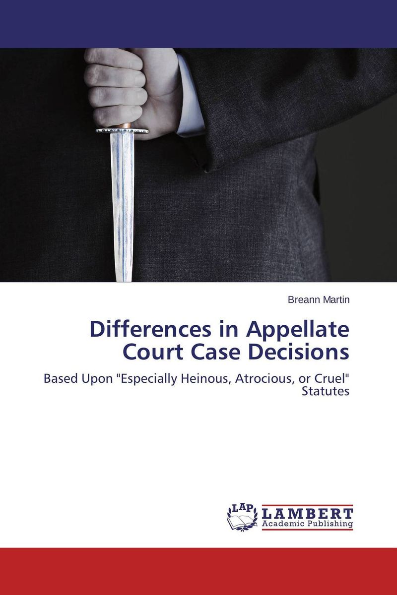 Differences in Appellate Court Case Decisions course enrollment decisions