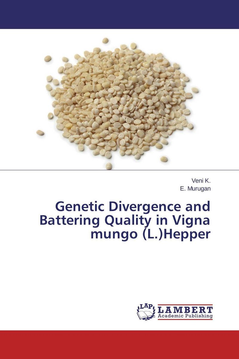 Genetic Divergence and Battering Quality in Vigna mungo (L.)Hepper mohd mazid and taqi ahmed khan interaction between auxin and vigna radiata l under cadmium stress