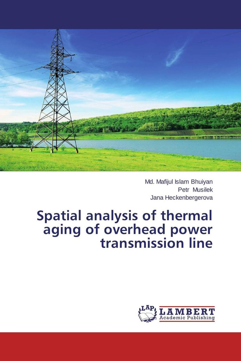 Spatial analysis of thermal aging of overhead power transmission line seek thermal