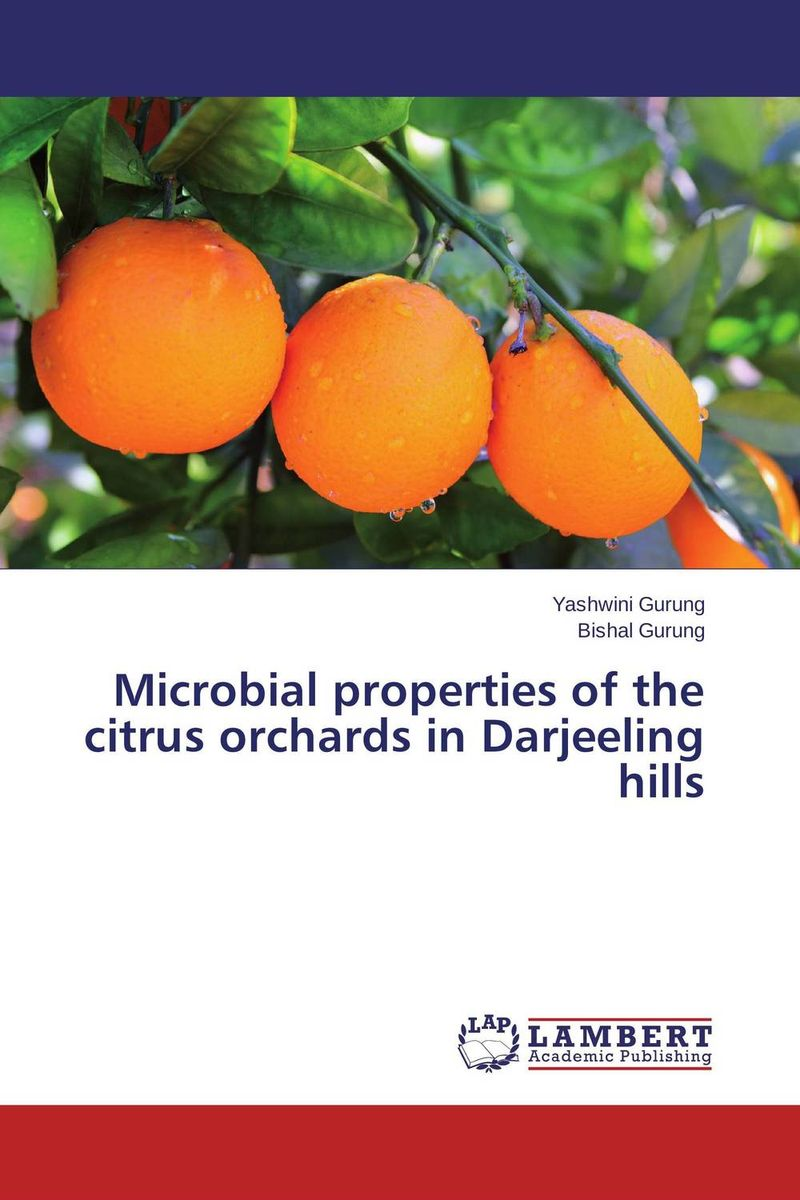 Microbial properties of the citrus orchards in Darjeeling hills encouraging natural defenses in pecan orchards