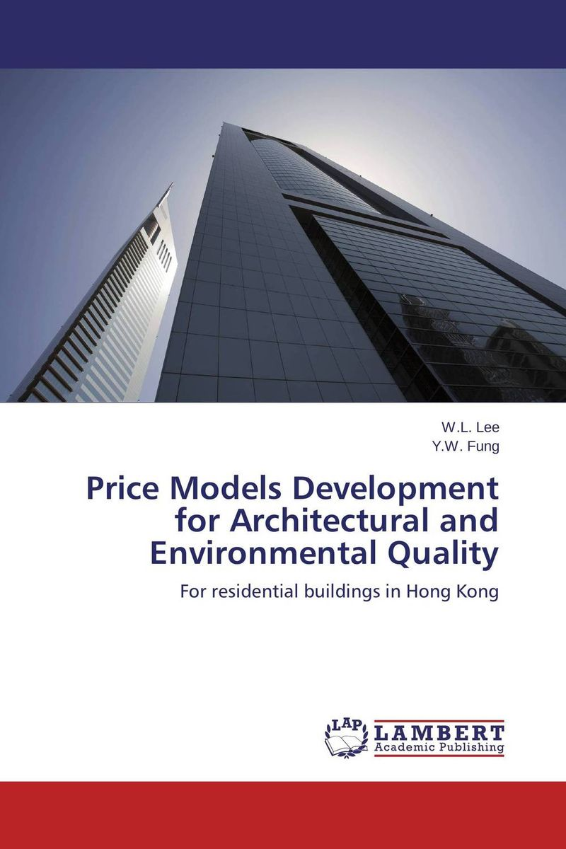 все цены на  Price Models Development for Architectural and Environmental Quality  онлайн