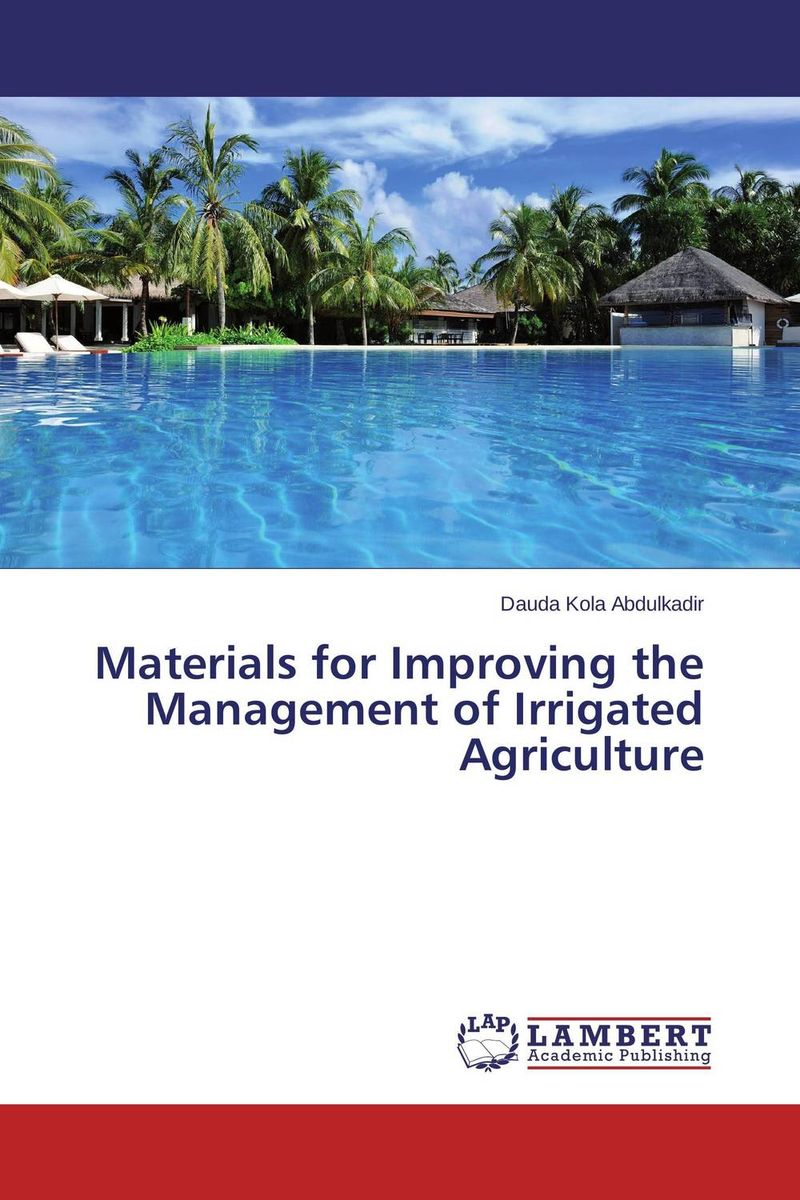 Materials for Improving the Management of Irrigated Agriculture design and implement network management system