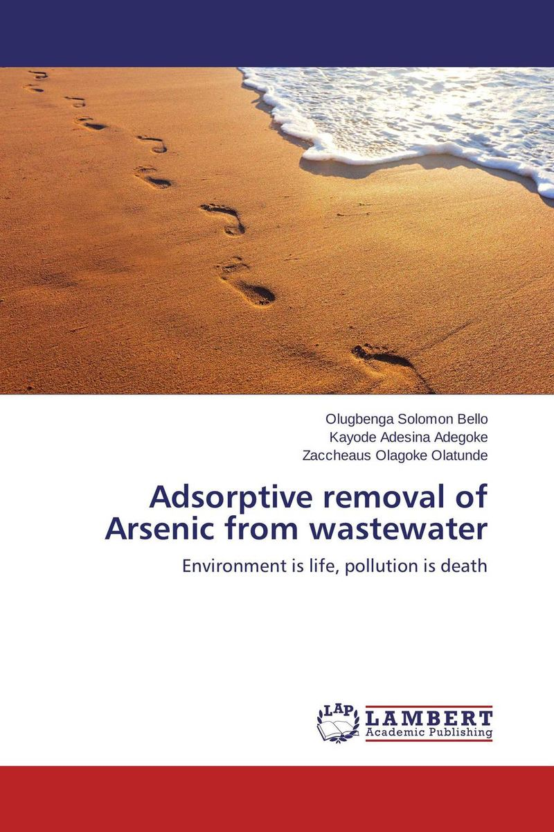 Adsorptive removal of Arsenic from wastewater