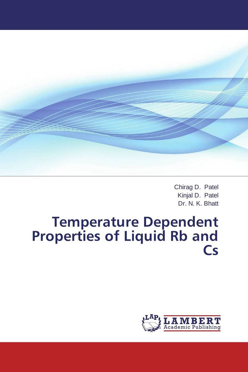 Temperature Dependent Properties of Liquid Rb and Cs parnas bibliotheca microbiologica brucella phages properties and application