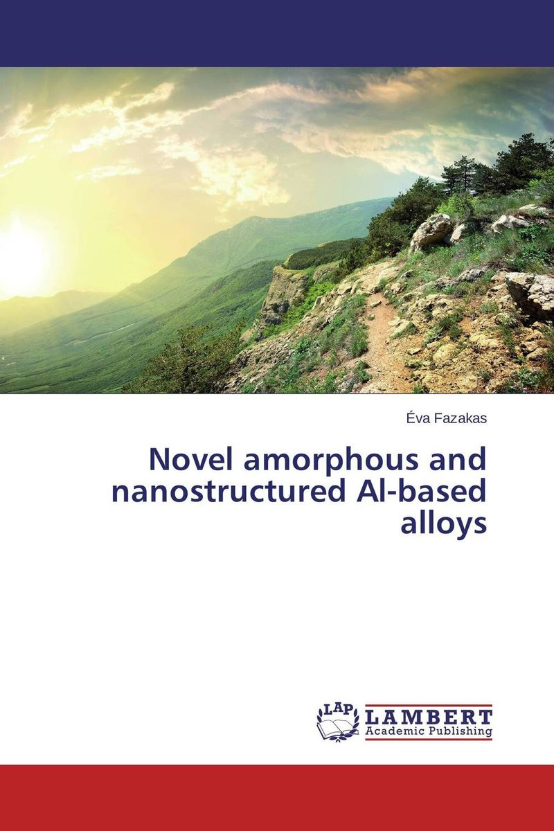 Novel amorphous and nanostructured Al-based alloys