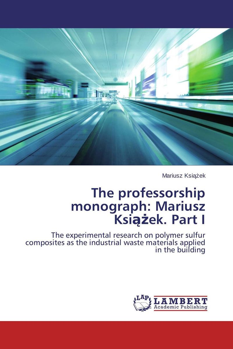 The professorship monograph: Mariusz Ksiazek. Part I