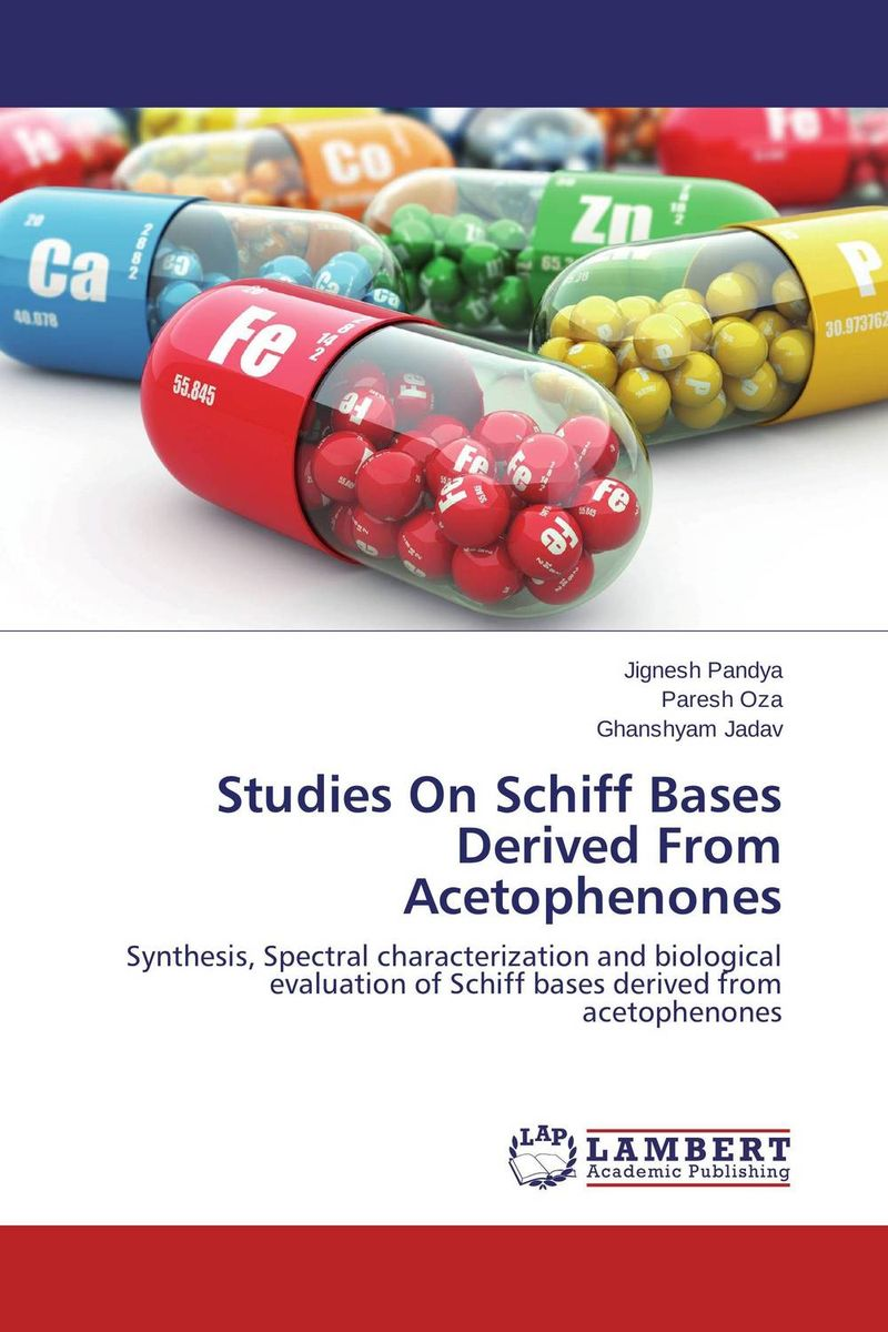 Studies On Schiff Bases Derived From Acetophenones studies on schiff bases derived from acetophenones