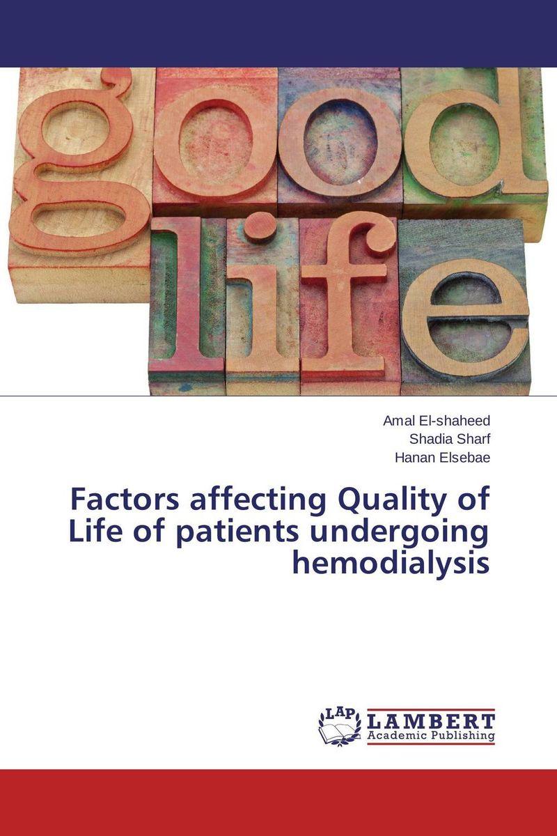 Factors affecting Quality of Life of patients undergoing hemodialysis simran kaur narinder pal singh and ajay kumar jain malnutrition in esrd patients on maintenance hemodialysis