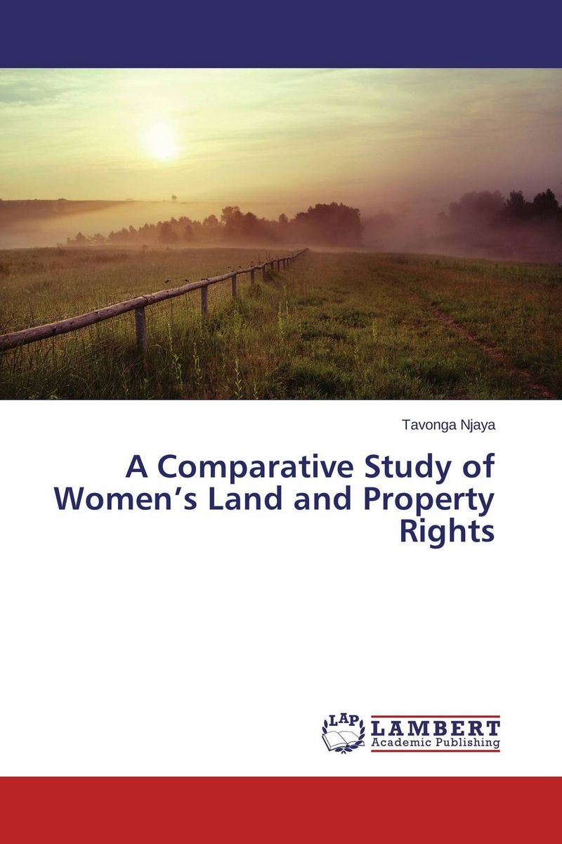 A Comparative Study of Women's Land and Property Rights dharam singh meena mahendra singh chundawat and rakesh kumar meena a comparative study between tribal and nontribal sports person